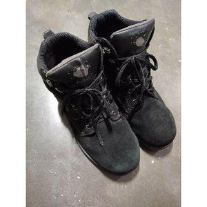 Wrangler Boots Black Men's Size 10.5 Wide